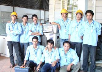 Đội ngủ nhân viên á châu