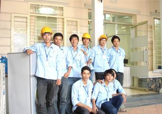 Đội ngủ nhân viên á châu 2