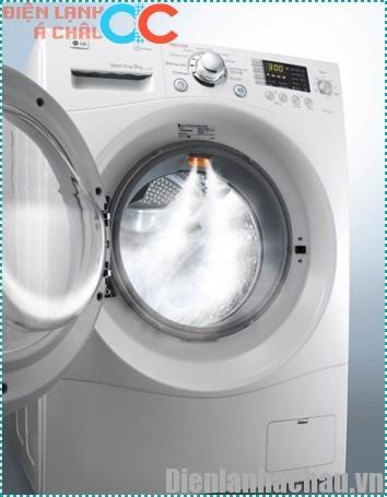 Mua máy giặt lồng ngang đở hư hại quần áo