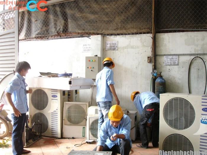 Sửa máy lạnh inverter