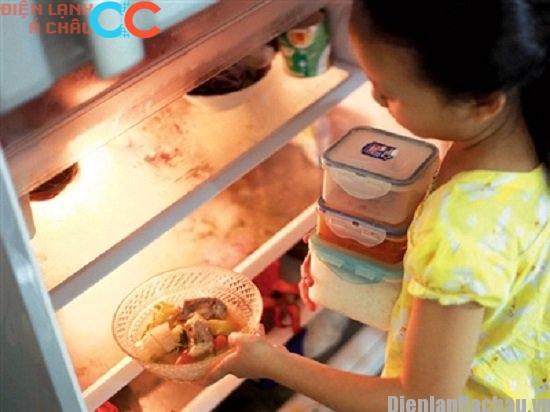 Nhồi nhét thực phẩm trong tủ lạnh nhiều dễ gây ngộ độc