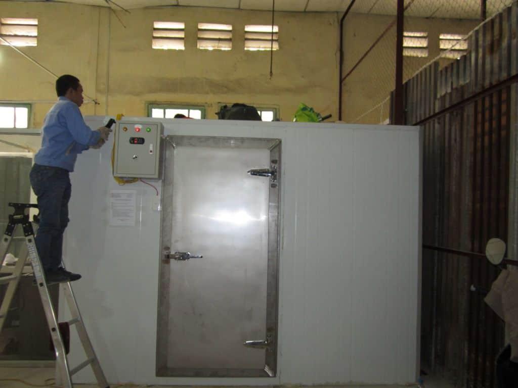 Tư vấn, thiết kế lắp đặt kho lạnh công nghiệp toàn quốc